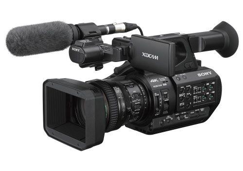 Kamera der bruges i TV optagelser på TV Fionia
